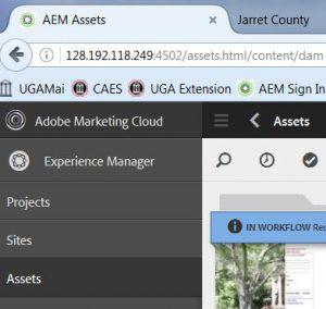 AEM-assets-links